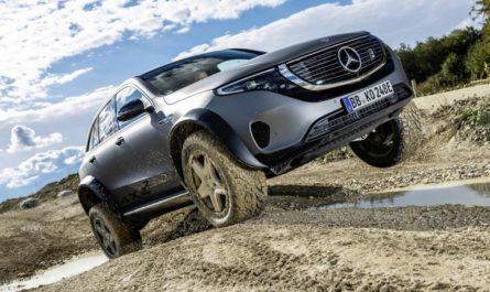 Mercedes показала полноприводный электрический вездеход