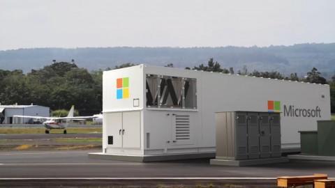 Microsoft создала «портативные» дата-центры