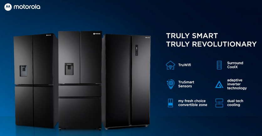 Motorola представила умные холодильники, «стиралки» и кондиционеры