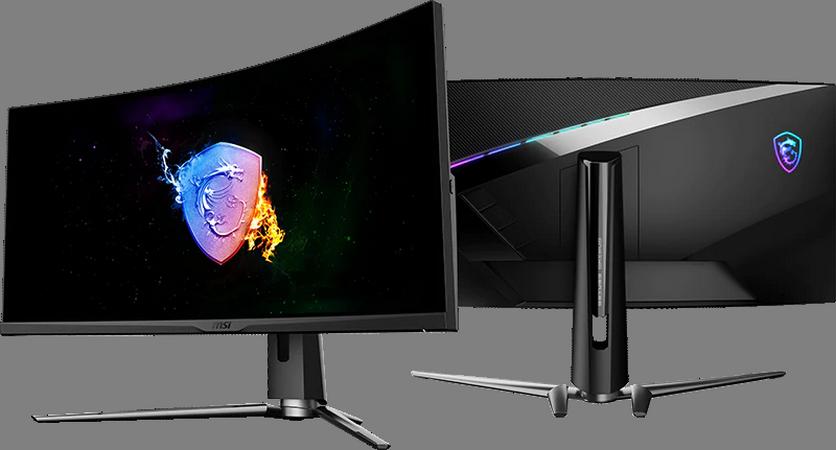 MSI представила изогнутый игровой монитор с искусственным интеллектом