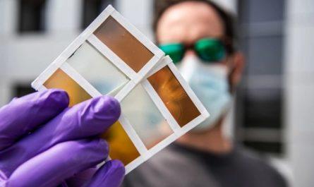 Новое умное окно способно менять цвет и вырабатывать энергию