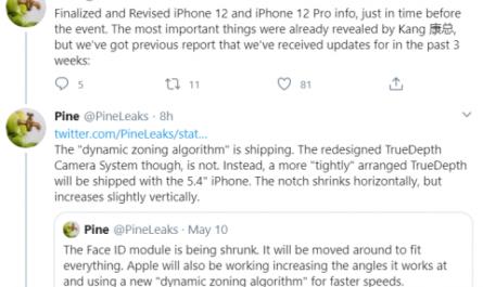 Новые особенности iPhone 12 раскрыты за день до презентации