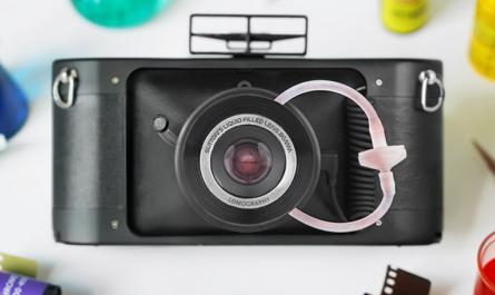 Плёночная камера Lomography получила жидкостный объектив