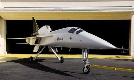 Продемонстрирован прототип сверхзвукового пассажирского самолёта [ВИДЕО]