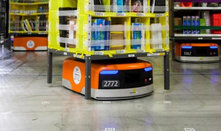 Роботизация на складах Amazon привела к увеличению количества травм