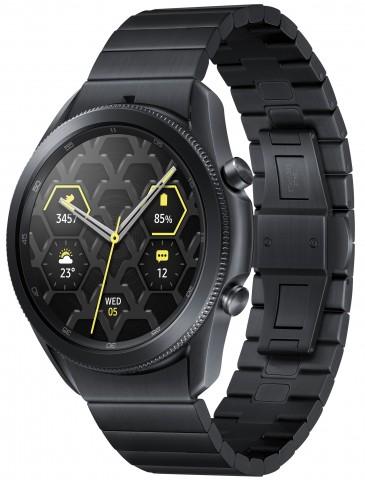 Samsung Galaxy Watch 3 в титановом корпусе появились в России