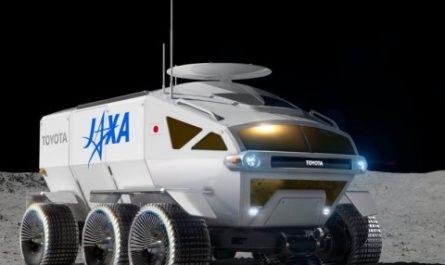 Toyota рассказала о космическом вездеходе для покорения Луны и Марса