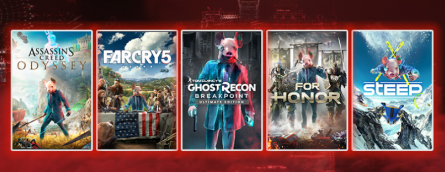 Ubisoft запустила «хакерскую» распродажу в Microsoft Store