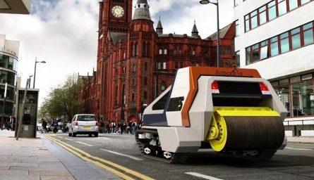 В Британии латать дороги будет самоуправляемый робот