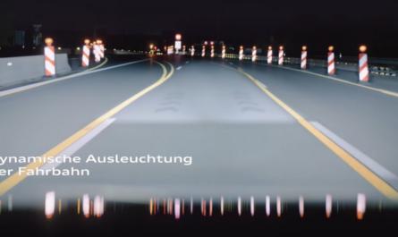 В новых автомобилях Audi появятся уникальные фары-проекторы
