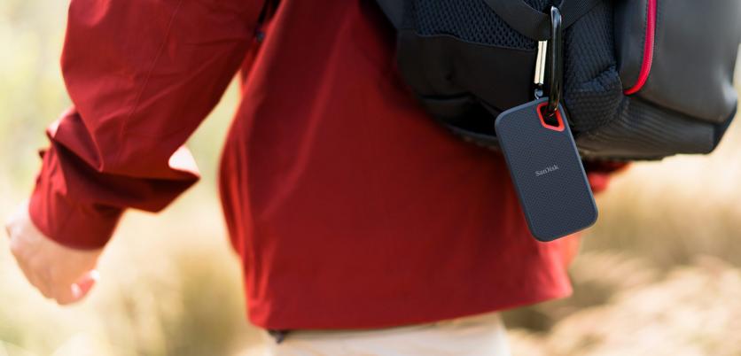 Western Digital представила самый быстрый портативный SSD-накопитель