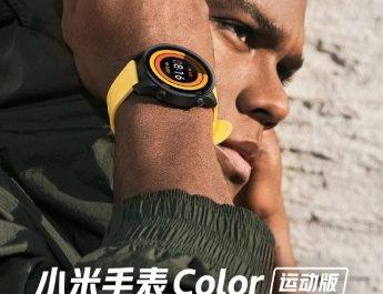 Xiaomi представила смарт-часы Mi Watch Color Sports Edition с датчиком кислорода