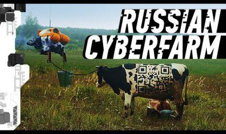 Режиссёр снял эффектное видео о русской деревне будущего