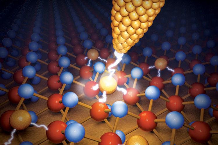 Американские учёные уменьшили мемристор до атомарного уровня