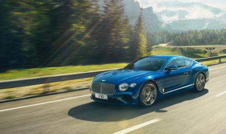 Bentley полностью откажется от бензиновых и дизельных авто
