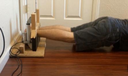 Блогер построил домашнюю «машину пыток» для занятий спортом