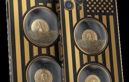Caviar выпустила эксклюзивную версию iPhone 12 Pro Max с песочными часами из золота