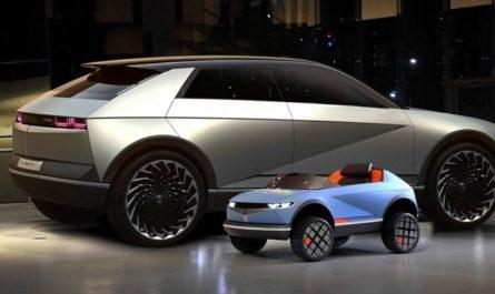Hyundai представила крошечный электрокар 45 Mini EV