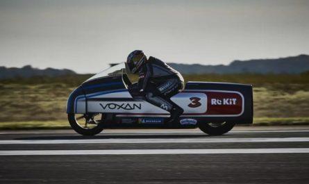 Электробайк Voxan установил сразу 11 мировых рекордов