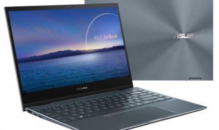 Компактный и мощный трансформер ASUS ZenBook Flip 13 появился в России