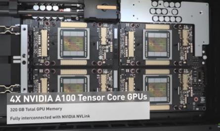 NVIDIA выпустит системный блок с 320 ГБ видеопамяти