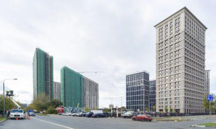 Анастасия Пятова: инвестор завершит строительство двух корпусов ЖК «Октябрьское поле» с детсадом во 2 квартале 2021 года