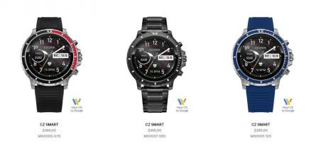 Первые смарт-часы Citizen с процессором Snapdragon и NFC оценили в $395
