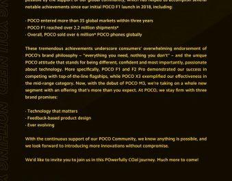 POCO отчиталась об успехах компании после обретения независимости