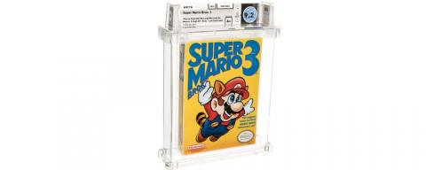 Редкий картридж с третьей Super Mario продали на аукционе за почти 12 миллионов рублей