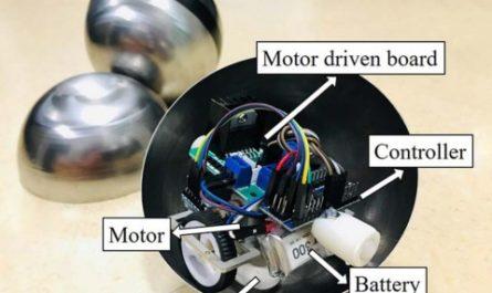 Роботов в форме шаров научили объединяться и лазать по стенам [ВИДЕО]