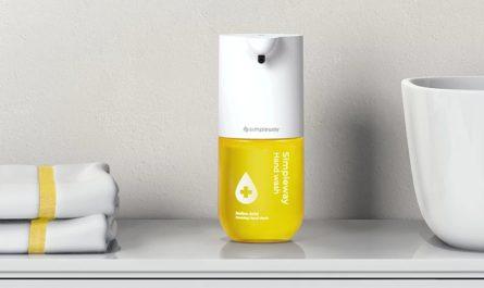 Simpleway C1: безопасное мытьё рук и 8 месяцев автономности