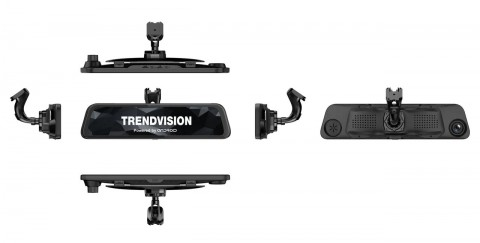 TrendVision aMirror 12 Android Pro: видеорегистратор на Android с функциями планшета
