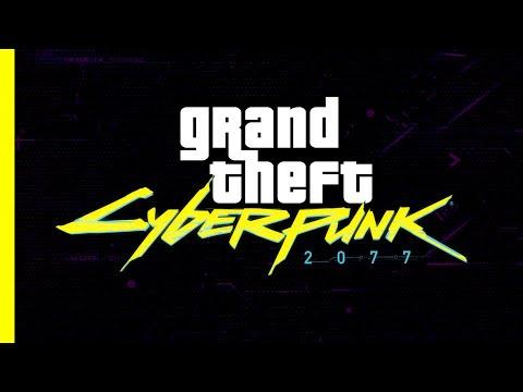Знаковый трейлер Cyberpunk 2077 пересняли на движке Grand Theft Auto V [ВИДЕО]