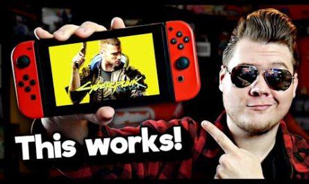 Cyberpunk 2077 запустили на Nintendo Switch. Но для этого понадобилось кое-что ещё [ВИДЕО]