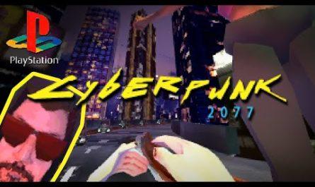 Блогер показал демейк Cyberpunk 2077 для PS1 и высмеял баги игры [ВИДЕО]