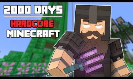 Это рекорд. Геймер выжил в хардкорном режиме Minecraft две тысячи дней [ВИДЕО]