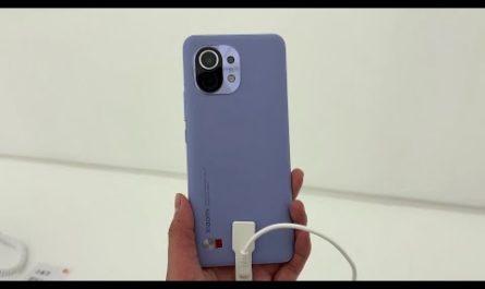 Xiaomi Mi11 распаковали и проверили в работе до начала продаж [ВИДЕО]