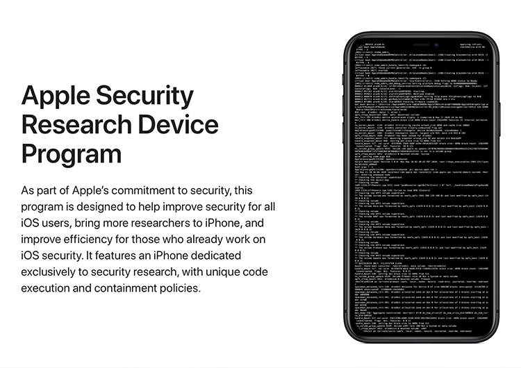 Apple начала поставки iPhone с официальным джейлбрейком для исследователей в области безопасности