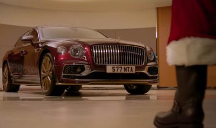 Bentley выпустила эксклюзивный автомобиль для Санта-Клауса
