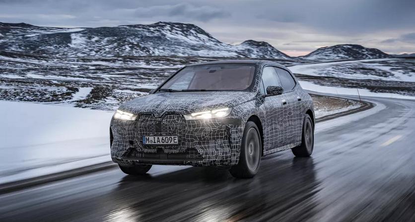BMW испытает электрический внедорожник iX3 в экстремальных условиях