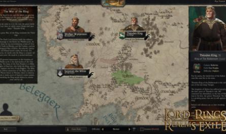Для Crusader Kings III вышел мод по «Властелину колец». Его рекламируют разработчики