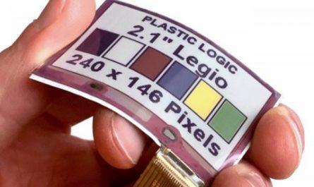 E Ink создала гибкий цветной дисплей для одежды и аксессуаров