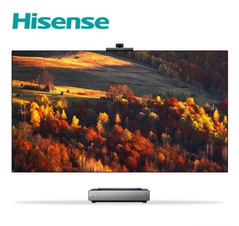Hisense представила лазерный телевизор с ИИ-камерой