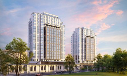 На севере Москвы введен в эксплуатацию клубный дом на 354 апартамента