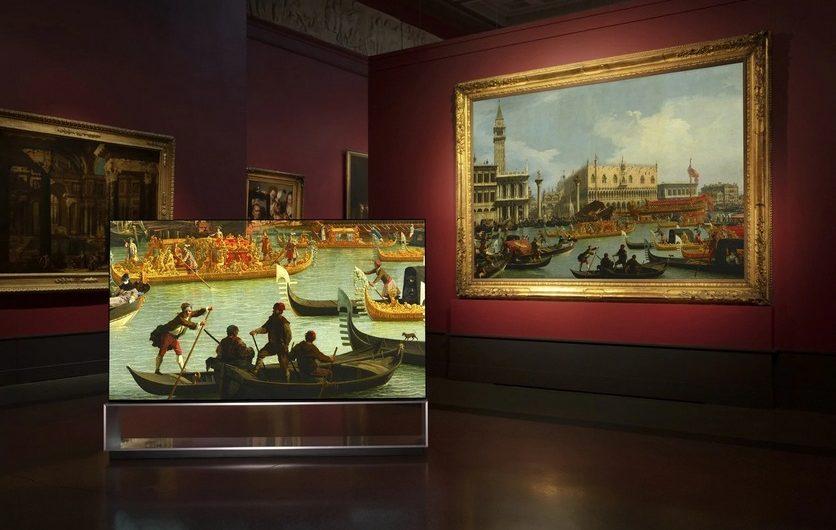 LG проведёт виртуальные туры по Пушкинскому музею