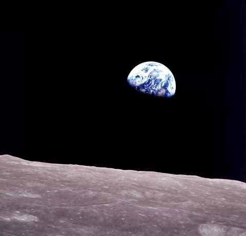 NASA показало уникальный снимок Земли, сделанный полстолетия назад