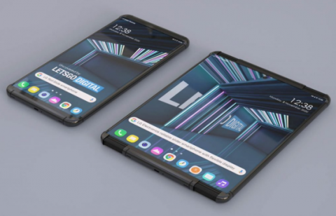 Названы ключевые характеристики и цена «рулонного» смартфона LG Rollable