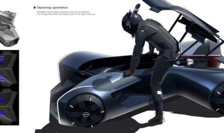 Nissan показала футуристический концепткар из 2050 года