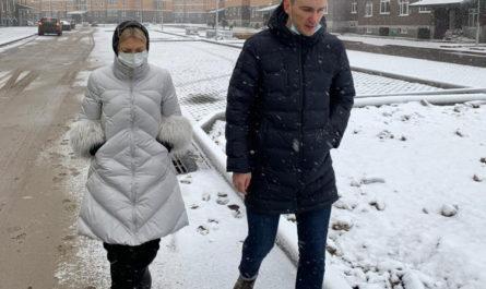 Председатель Москомстройинвеста Анастасия Пятова осмотрела ход завершения строительства двух очередей ЖК «Марьино Град»
