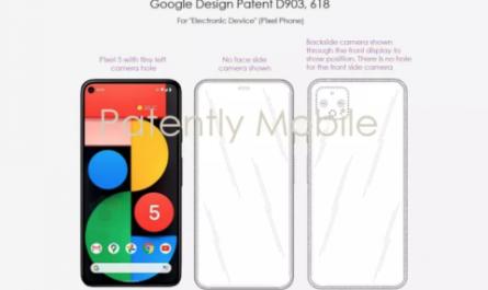 Новый патент Google раскрывает ключевую особенность Pixel 6